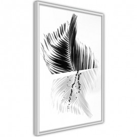 Póster - Abstract Feather