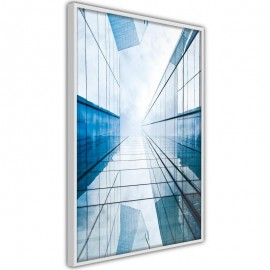 Pôster - Steel and Glass (Blue)