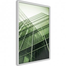 Pôster - Steel and Glass (Green)