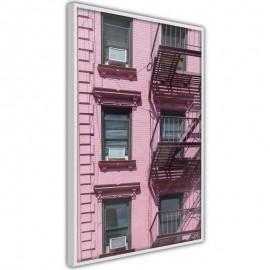 Pôster - Pink Facade