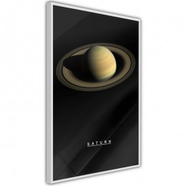 Póster - The Solar System: Saturn