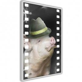 Póster - Dressed Up Piggy