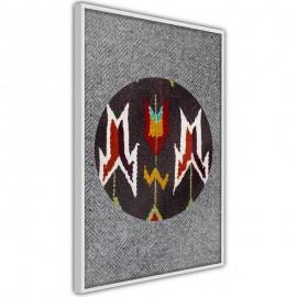 Póster - Ethnic Fabric