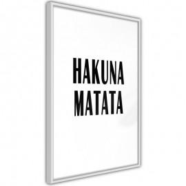 Pôster - Hakuna Matata