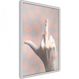 Póster - Middle Finger