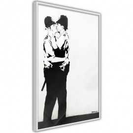 Póster - Banksy: Kissing Coppers II
