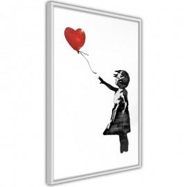 Póster - Banksy: Girl with Balloon II