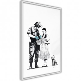 Póster - Banksy: Stop and Search