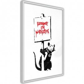 Póster - Banksy: Because I'm Worthless