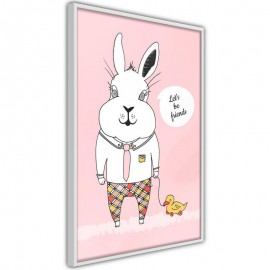 Póster - Friendly Bunny