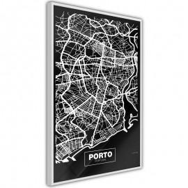 Póster - City Map: Porto (Dark)