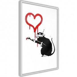 Póster - Banksy: Love Rat