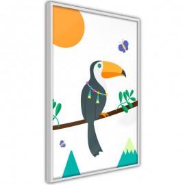 Póster - Fairy-Tale Toucan