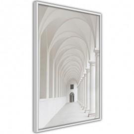 Pôster - White Colonnade