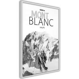 Póster - Peaks of the World: Mont Blanc
