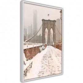 Póster - Winter in New York