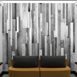 Fotomural - Gray wood