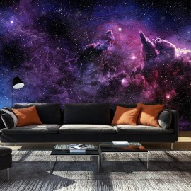 Fotomural - Purple Nebula