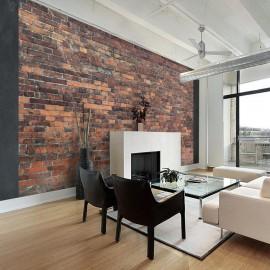 Fotomural - Vintage Wall (Red Brick)