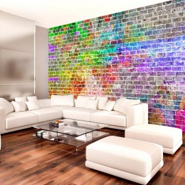 Fotomural - Rainbow Wall