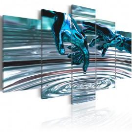 Quadro - Círculos de água