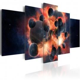 Quadro - Teoria da criação do universo