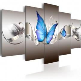 Quadro - Blue butterflies