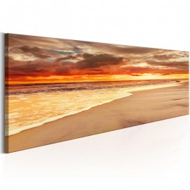 Cuadro - Beach: Beatiful Sunset