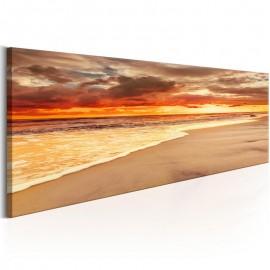 Quadro - Beach: Beatiful Sunset