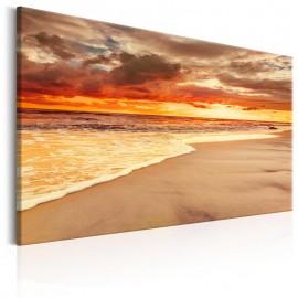 Quadro - Beach: Beatiful Sunset II