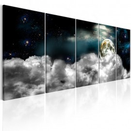 Quadro - Moon in the Clouds I