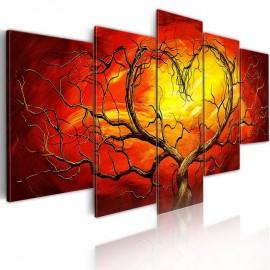Cuadro - Corazón ardiente