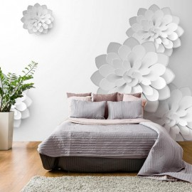 Fotomural - White Garden