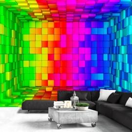 Fotomural - Rainbow Cube