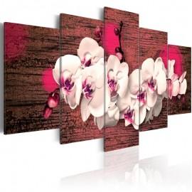 Quadro - Alegria e orquídea