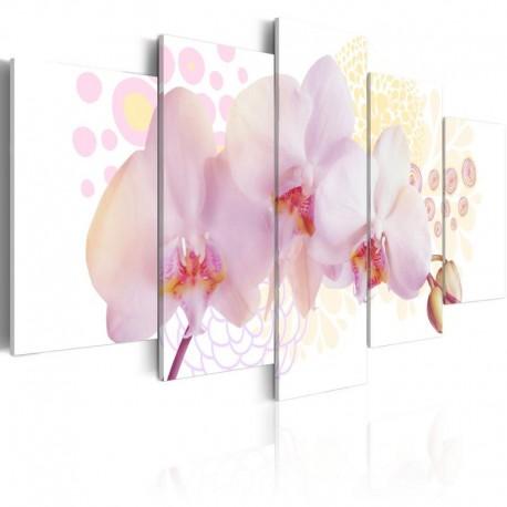 Cuadro - Orquídea sutil