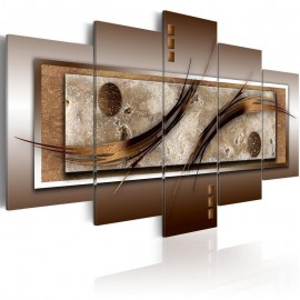 Quadro - Delicate shapes and warm colors