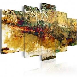 Cuadro - jardín: abstracto