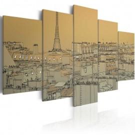 Cuadro - París en estilo vintage