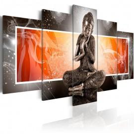 Quadro - Buddha and ornaments