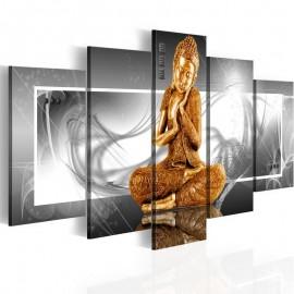 Cuadro - Oración budista