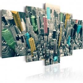 Cuadro - La grisura del día resucitó en Nueva York