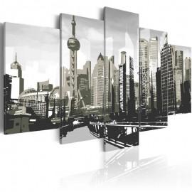 Cuadro - Shanghai, la ciudad más grande de China
