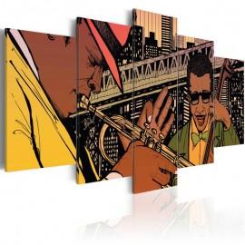 Cuadro - Jazz en Nueva York