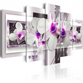 Quadro - With violet accent