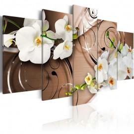 Cuadro - Orquídeas en marfil