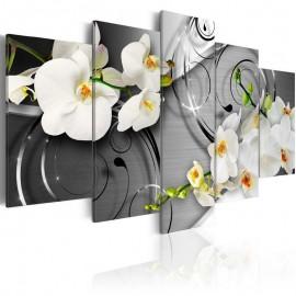 Quadro - Milky orchids