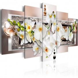 Quadro - White abstract orchid