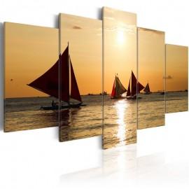 Quadro - Sailbloats at dusk
