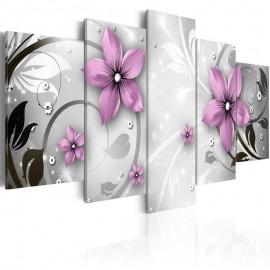 Cuadro - Flores coquetas